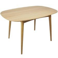 Blonde Oak Modern Dining Table