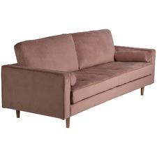 Marion 3 Seater Velvet Sofa