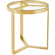 Gold Zandra Side Table