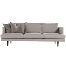 Peter 3 Seater Fabric Sofa