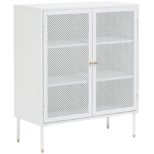 Tall White Huxley Cabinet