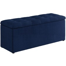 Gloria Velvet Storage Bench