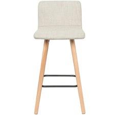Light Grey Jimmy Upholstered Barstool