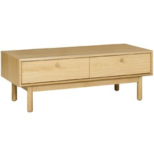 Oak Talitha Coffee Table with Drawers