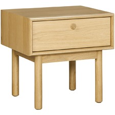Oak Talitha Bedside Table with Drawer