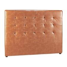 Tan Tabitha Leather Bedhead