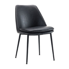 Caerlton Faux Leather Dining Chair