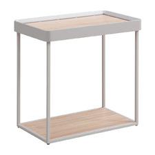 Oak & Grey Pough Side Table