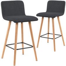 65cm  Jimmy Upholstered Barstool (Set of 2)