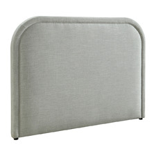 Light Grey Andela Queen Headboard