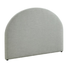 Light Grey Jovian Queen Headboard