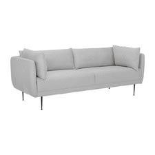 Grey Adonis 3 Seater Sofa