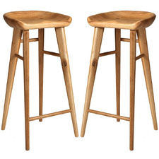 79cm Tractor Seat Barstools (Set of 2)
