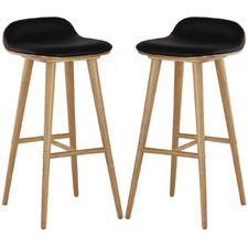 Tempe Leather Barstools (Set of 2)