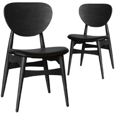 Weasley Leather Dining Chairss