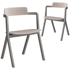 Maggie Contemporary Dining Chairs (Set of 2)
