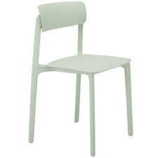 Mint Manon Stackable Outdoor Dining Chair