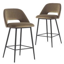 67cm Janis Fabric Barstools (Set of 2)