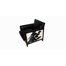 Tess Chair in Black Nguni