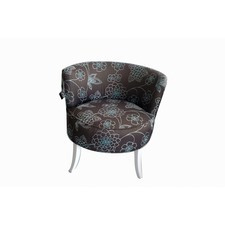 Martini Chair in Begonia with Peacock
