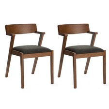 Modern Danish Zola Dining Chair (Set of 2)
