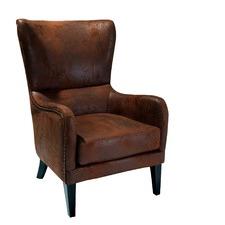 Salerno Microfibre High-Backed Armchair