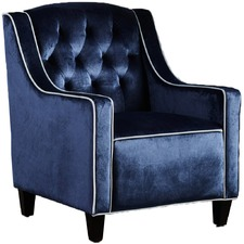 Lara Tufted New Velvet Armchair