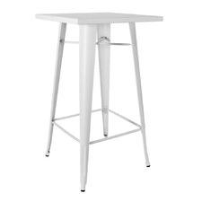 Square Replica Tolix Bar Table