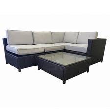 5 Piece Miso 4 Seater Lounge Set