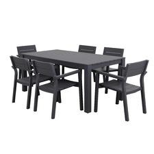 7 Piece Como Outdoor Dining Set