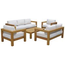 7 Seat Hamptons Heavy Lounge Set