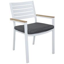 Comet Outdoor Teak Armchair & Cushion