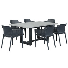 6 Seater Elwood Outdoor Dining Set