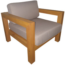 Merida Karri Gum Wood Outdoor Chair