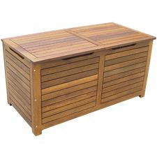 Caprice Shorea Wood Outdoor Storage Box