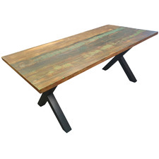 Havana Recycled Boat Wood Outdoor Dining Table