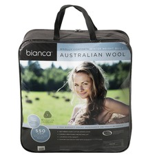 Woolly Comforts Australian Wool Quilt 550gsm