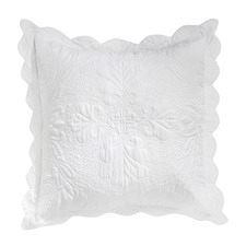 Shayla European White Pillowcase