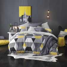 Geometric Baxter Quilt Cover Set