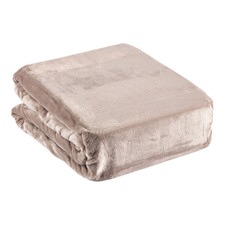 Ultra Soft Velvet Silver Grey Blanket