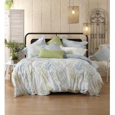 Palm Cove Cotton Quilt Cover Set