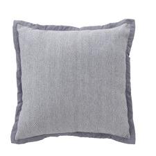 Grey Fleur Cushion