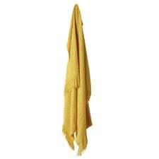 Mustard Declan Throw Rug