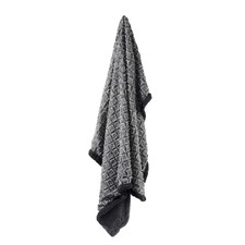 Textured Cody Sherpa Throw