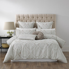 Taupe Balerno Quilt Cover Set