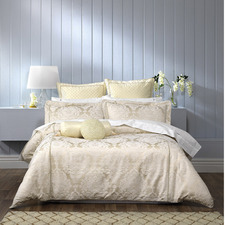 Ivory Trieste Quilt Cover Set