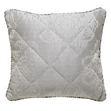 Silver Eleanor Square Cushion