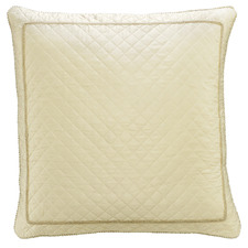 Ivory Trieste European Pillowcase