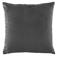 Coal Vivid Velvet European Pillowcase