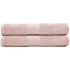 Reid Turkish Cotton Bathroom Towels (Set of 2)